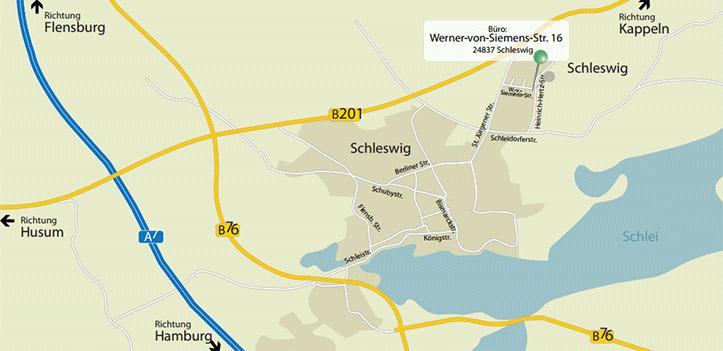 Anfahrt Karte Weitkamp Hirsch Kollegen Steuerberatungsgesellschaft mbH